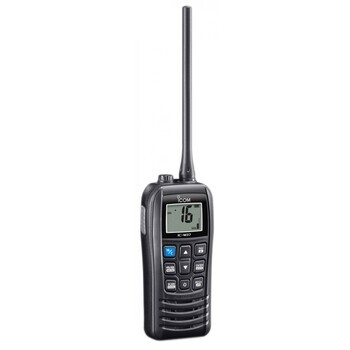 Foto - HANDHELD VHF- ICOM IC-M37E