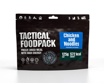 Foto - TACTICAL FOODPACK- CHICKEN AND NOODLES